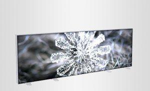 Luxia LUMI kaksipuolinen LED mainosaita