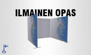 Extend panorama messuseinäke design graafinen opas
