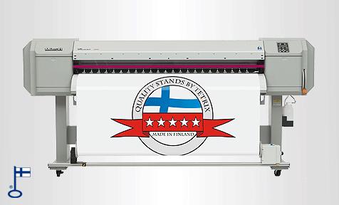 Messuseinän tulostaminen nopea printti back-drop